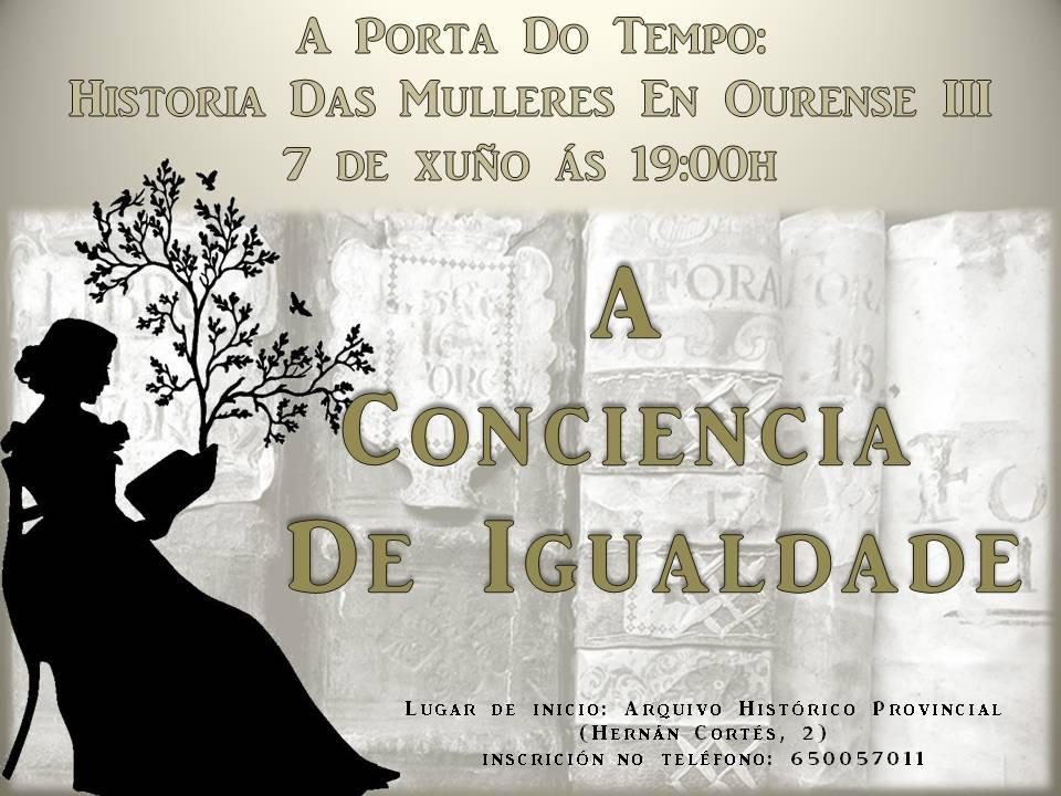 A porta do tempo: Historia das mulleres en Ourense (III). A conciencia da igualdade